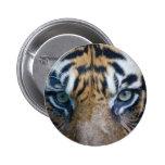 Sumatran tiger button