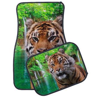 Sumatran Tiger Car Mats Full Set Floor Mat