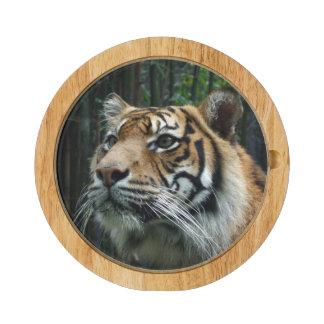 Sumatran Tiger Cheese Board Round Cheeseboard