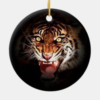 Sumatran Tiger Christmas Ornaments