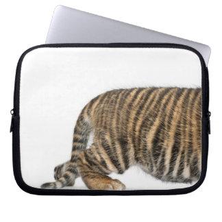 Sumatran Tiger cub 2 Laptop Computer Sleeve