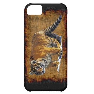 Sumatran Tiger-cub Wild Animal Big Cat-Lover Case For iPhone 5C