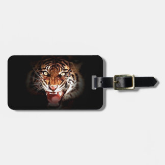 Sumatran Tiger Luggage Tag