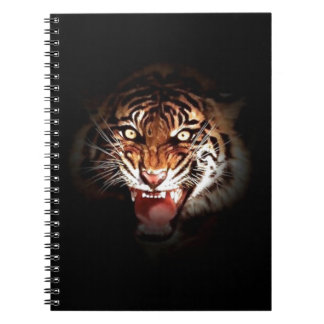 Sumatran Tiger Spiral Note Books