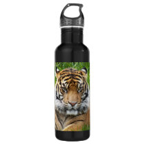 Sumatran Tiger Photo Water Bottle