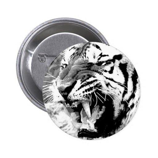Sumatran Tiger Pinback Button