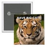 Sumatran Tiger Portrait Pinback Button