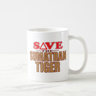 Sumatran Tiger Save Coffee Mug