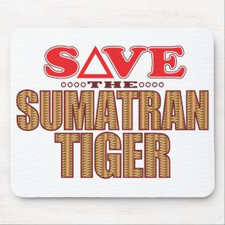 Sumatran Tiger Save Mouse Pad
