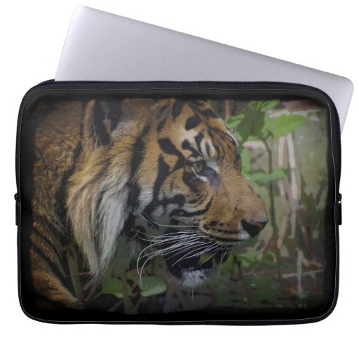 Sumatran Tiger Wild Animal Big Cat-Lover Computer Sleeve