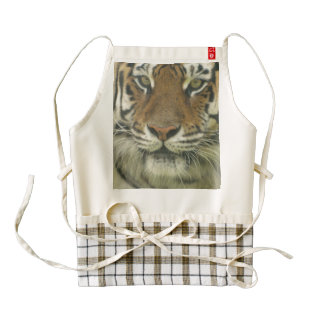 Sumatran Tiger Zazzle HEART Apron