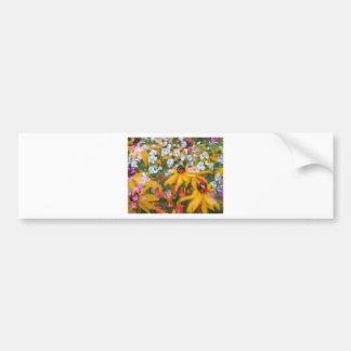 Sumer Flowers Bumper Sticker