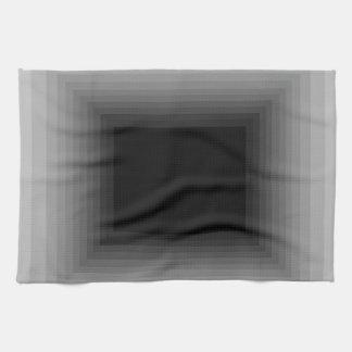 Sumergido en el diseño gris CricketDiane del arte Toallas De Mano