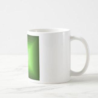 Sumergido en el diseño verde CricketDiane del arte Taza