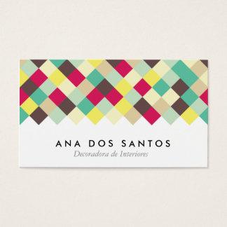 Sumergirse en el Color Tarjetas de Visita Business Card