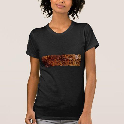 SUMERIAN CUNEIFORM WRITING T-Shirt series