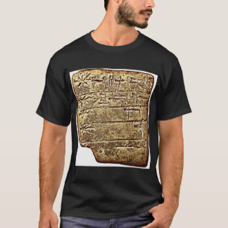 sumerian ms2272 2400bc  ms 2272 list of gods in or T-Shirt