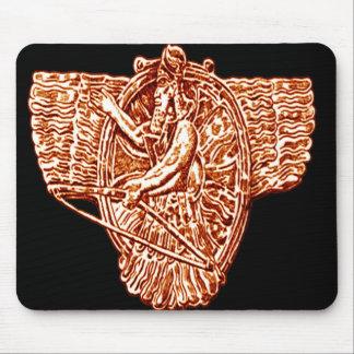 *Sumerian Mythology*  Winged Gods Mouse Pad