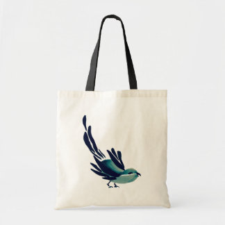 Sumi-e Bird Tote Bag