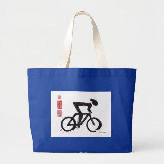 "SumiCyclist ""Emancipation"" Tote Bags"