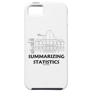 Summarizing Statistics (Bell Curve Distribution) iPhone 5 Cover