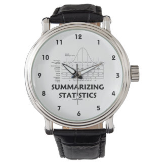 Summarizing Statistics (Bell Curve Distribution) Wristwatches