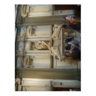 Summary Cappelle Medicee (Medici Chapels) in Flore Postcard