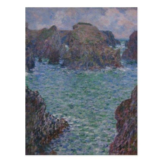 Summary Claude Monet 'Port-Goulphar, Belle-?le' 'P Postcard