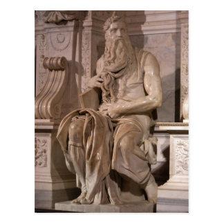 Summary Description Michelangelo Buonarroti : Mose Postcard