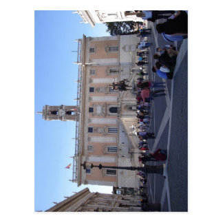 Summary Description Palazzo dei Senatori in the Pi Postcard