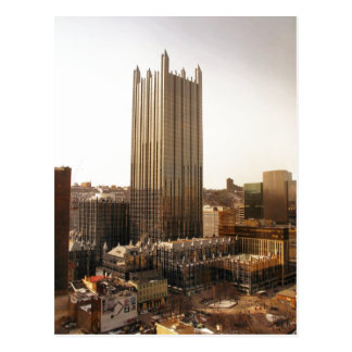 Summary Description PPG Place in downtown Pittsbur Postcard