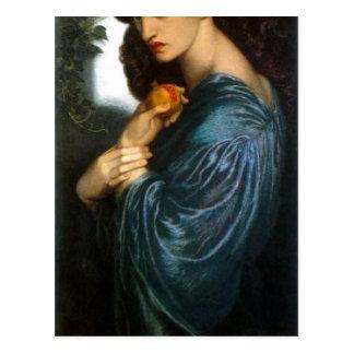 Summary Description Proserpine (Oil on canvas, 187 Postcard