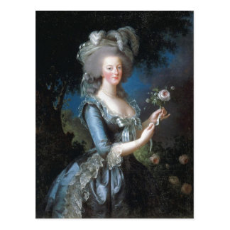 Summary Description Queen Marie Antoinette of Fran Postcard