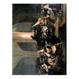 Summary Description Tribunal de la Inquisici?n Aut Postcard