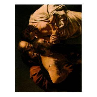 Summary Espa?ol: La incredulidad de Santo Tom?s Th Postcard