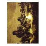 Summary Francisco de Goya, los sinos Atropos (Ca 1 Tarjeta Postal