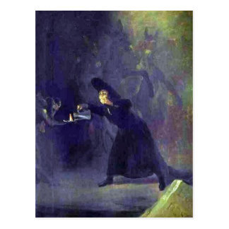Summary Francisco de Goya: The Bewitched Man (c. 1 Postcard