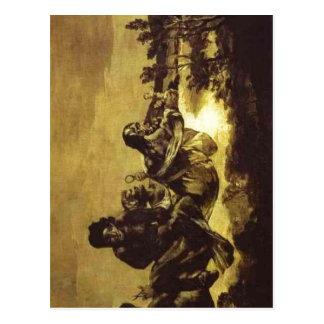 Summary Francisco de Goya, The Fates Atropos (ca 1 Postcard