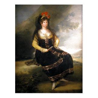 Summary Goya y Lucientes, Francisco de The Countes Postcard