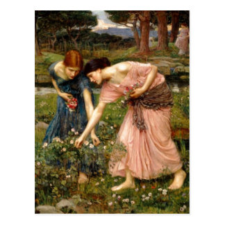 Summary John William Waterhouse 1849-1917 Gather Post Card