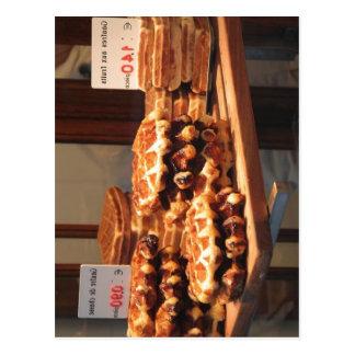 Summary Li?ge style waffle (en:Li?ge Waffle fr:Gau Postcard