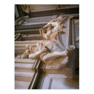 Summary Michelangelo s Sagrestia Nuova in the Cap Post Cards