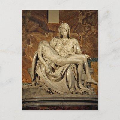 Summary Michelangelo's Piet? St. Peter's Basilica  Post Cards