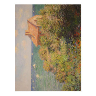Summary Monet painting Monet, Claude 1840-11-14 19 Postcard