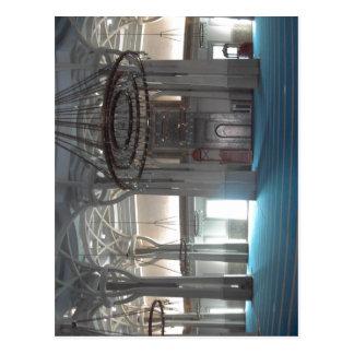 Summary Moschea di Roma: panoramica della sala pri Postcard