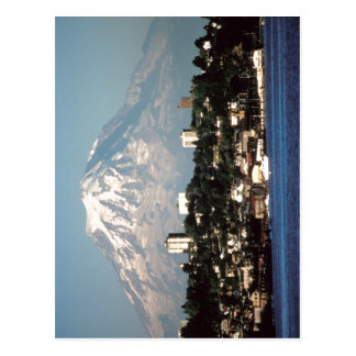 Summary Mount Rainier over Tacoma, Washington, USA Postcard