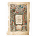 Summary Title page from Theatrum Orbis Terrarum, s Post Card