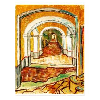 Summary Vincent van Gogh - Corridor in the Asylum  Postcard