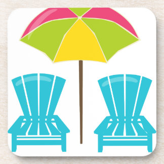 Summe rFun-Umbrella&Chairs. Beverage Coaster