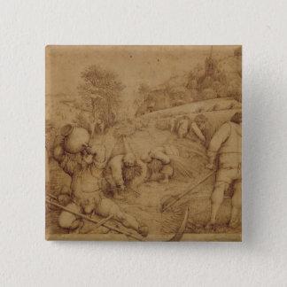 Summer, 1568 pinback button